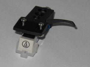 Black Headshell + Replacement Audio Technica AT3600L Cartridge + Diamond Stylus