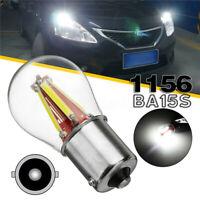 1156 BA15S 180° 4COB LED Rücklicht Signallicht Blinker Birne Bremslicht Weiß  5