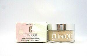 Clinique Superblended Face Powder ~ 03 Transparent neutral ~  0.8 oz / 24 g BNIB