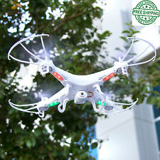 Remote Helicopter, 6-Axis Quadcopter Flying Drone Toy With Gyro And HD Camera