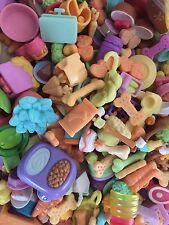 Littlest Pet Shop SURPRISE GRAB BAG 10 PC RANDOM LOT of FOOD Grocery Pieces LPS