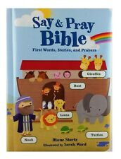 Tommy Nelson Say & Pray Bible First Words, Stories and Prayers, Soft Cover