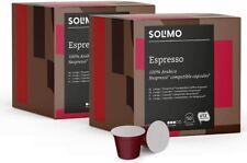 Solimo Nespresso* Compatible Espresso Capsules- UTZ Certified, 100 (2X50) Coffee