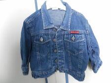 giubbetto giacca jeans TG 6-9   MESI NEONATO bambino