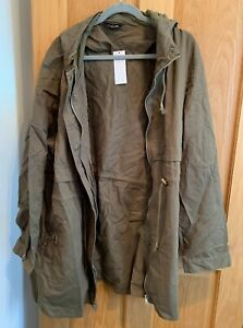 Cargo jacket with hood. In great condition. RRP £39.99