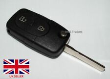 For Audi Compatible A2 A3 A4 A6 A8 TT 2 Button Key Fob Key with BLANK Blade A49