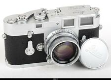 Camera Leica M3 Lens Leitz Summicron 2/5cm Mint-