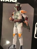 Rubies STAR WARS DELUXE BOBA FETT COSTUME PHOTO REAL Boys Kids Small 6-8