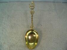 Dutch Solid Silver Gilt Christening Spoon, 1819