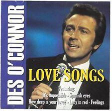 Love Songs - Des O'Connor - CD