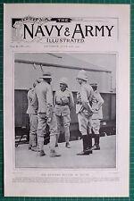 1900 BOER WAR ~ SIR REDVERS BULLER IN NATAL CAPTAIN JONES