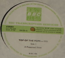 DEPECHE MODE ELTON JOHN MIKE MECHANICS ~ BBC TOP POPS TRANS DISC 1111 LP 1986