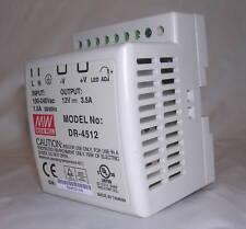 45 Watt 12V Industrial DIN Rail Switchmode Power Supply DR-4512 12VDC