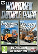 Road Construction + Utility Vehicle Simulator Windows PC 100% Brand New
