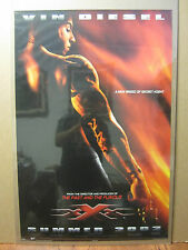 Vintage 2002 Movie poster Vin Diesel  XXX triple X 877
