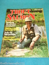TROUT AND SALMON - BEATING THE SPATES - MARCH 1986