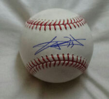 CJ WILSON signed Official Major League basebal (LOS ANGELES ANGELS OF ANAHEIM)