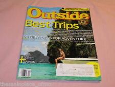 Outside Magazine April 2014 Best Trips Outside Travel Awards Everest Hike Canoe