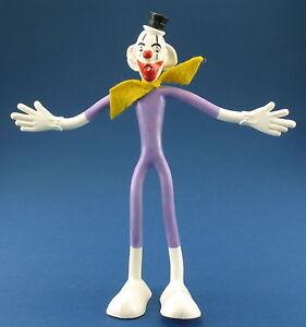 SCHLEICH Biegefigur - Clown Button - weiß - 15,5 cm  - ca. 1969 - Figur - Bendy
