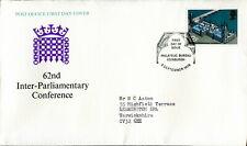 1975 GB SG 988 Parliament FDC. EDINBURGH pm. IPU