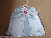 Disney Princess Cloak Cape Girls Gold Belle Cinderella NEW (tags) Fancy Dress