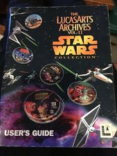 The Lucasarts Archives Vol. II Star Wars Collection User's Guide