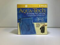 Aqua-Tech Power Aquarium Filter Fits 5 - 15 Power Filters 3 Pack Ez Change #1