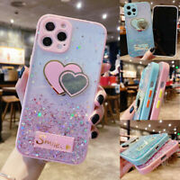 Bling Glitter Case Girls Phone Cover for iPhone 12 11 Pro Max Samsung A21 A71 5G