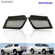 05 – 09 Matte Black Front Net Grill For Mitsubishi Triton L200 Ralliart Sport