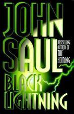 John Saul: Black Lightning (1995, Full Size Hardcover) 1st Edition