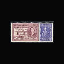 Ruanda-Urundi,  Sc #B21-22, MH, 1956, Queen Elizabeth & Mozart Sonata, 5IDD