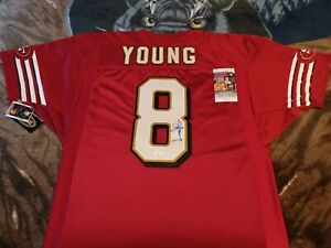 Steve Young Autographed San Francisco 49ers Authentic Wilson Jersey W/Tags, JSA