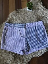 J. Crew Women's Size 10 Shorts New With Tags Purple Stripes $59.50