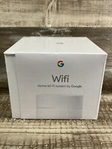 Google Wifi AC1200 Dual-Band Mesh Wi-Fi System 1-pack White