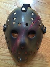 CUSTOM MADE Jason Voorhees FRIDAY THE 13th hockey mask
