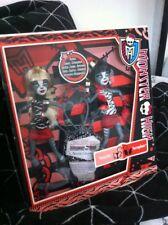 Monster High Dolls - Meowlody & Purrsephone Werecat Sisters BNIB 2 PACK - RARE