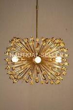 5 Bulbs Urchin Chandelier Modern Brass Beade Urchin Pendant Light