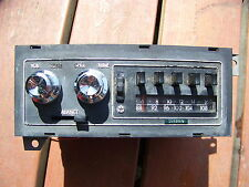1978 DODGE TRUCK AM FM STEREO OEM POWER WAGON 75 76 77 78 79 RAMCHARGER  S/E
