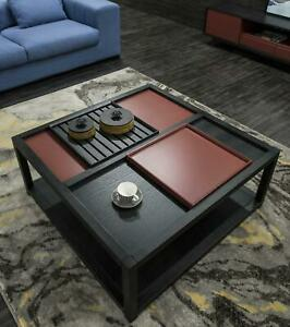 Couch Sofa Table Wood Round Side Designer Tables Metal Italian Furniture