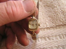 Vintage Hamilton Ladies Women's Watch 17 Jewels 780 14K Gold