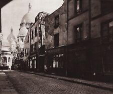 1890/1963 Vintage 11x14 CITY STREET Architecture Paris France Art ~ EUGENE ATGET