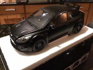 RARE 1:18 FORD RS500 FOCUS BLACK MINICHAMPS