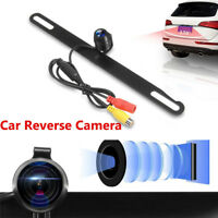 170° Car Rear View Reverse Backup Camera Parking Night Vision Waterproof Metal