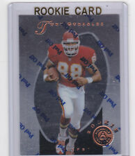 TONY GONZALEZ ROOKIE CARD 1997 Kansas City Chiefs Falcons Pinnacle Certified RC