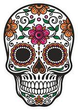SUGAR Skull Adesivo Vinile Decalcomania Spagnolo Messicano Giorno dei Morti Divertente Brand Sexy 3