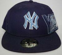 New Era 59FIFTY NEW YORK YANKEES Hat  Blue  Fitted CAP 7 1/4 NY MLB VTG RARE