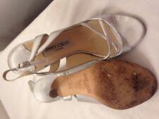 Jimmy Choo silver sandales 36 3