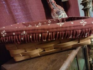 SMALL LONGABERGER BASKET WITH LINER