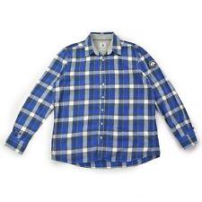 GAASTRA Herren Hemd XL 54 Nautical blau kariert langarm Oberteil Men shirt NEU
