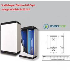 Scaldabagno LT60 Elettrico C65 CAPRI Doppia Caldaia con 2 resistenze